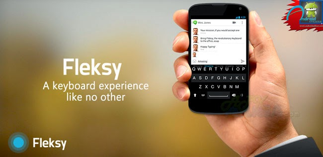 Fleksy Keyboard - Happy Typing Android apk