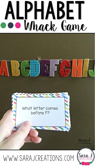 Free ABC game to practice the order of the letters in the alphabet