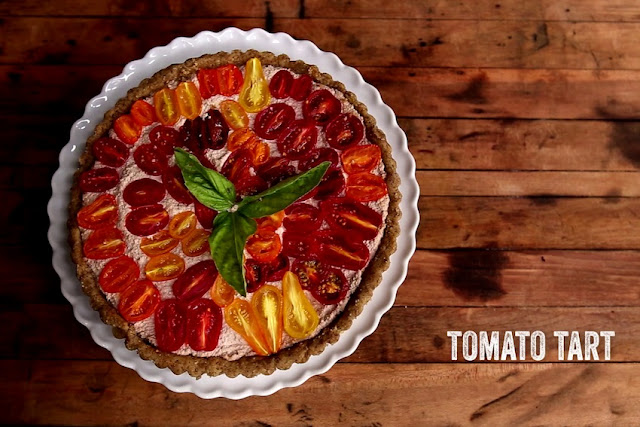 Low carb and vegan... Raw_vegan_tomato_tart