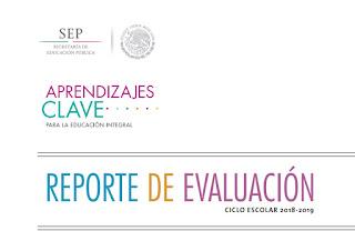 REPORTES DE EVALUACIÓN - SECUNDARIA- APRENDIZAJES CLAVE