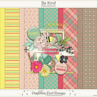 Be Kind by Dandelion Dust Designs