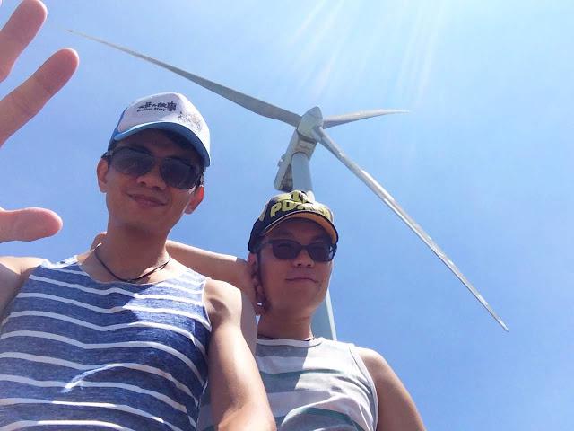 海山漁港風車