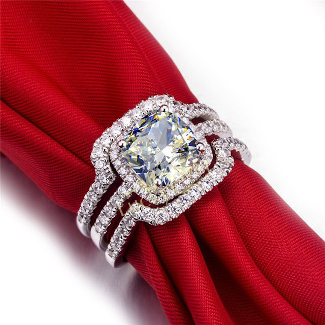 Cheap Diamond Wedding Ring Sets For Her
