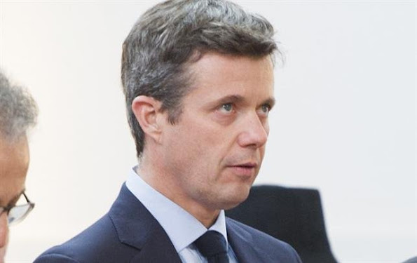Crown Prince Frederik of Denmark and Princess Marie of Denmark attended a mass for the terrorist attacks victims in Paris