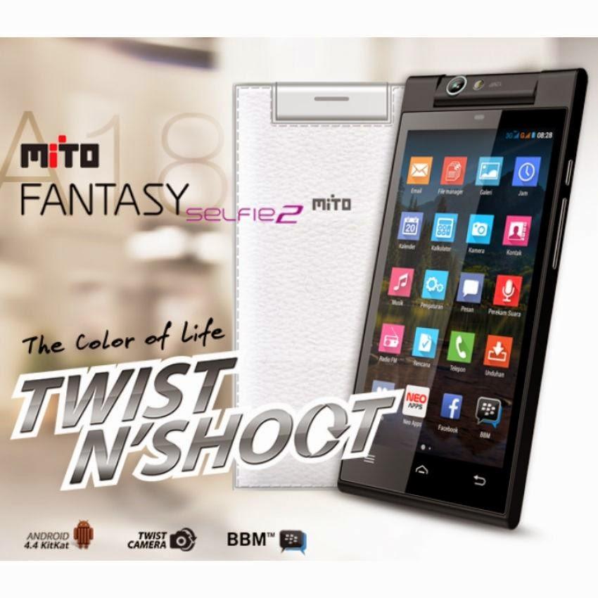 Mito, MITO A18 Fantasy Selfie2, Harga MITO A18 Fantasy Selfie2, Spesifikasi MITO A18 Fantasy Selfie2,