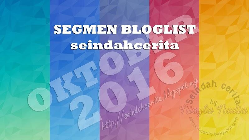 Segmen Bloglist Seindahcerita