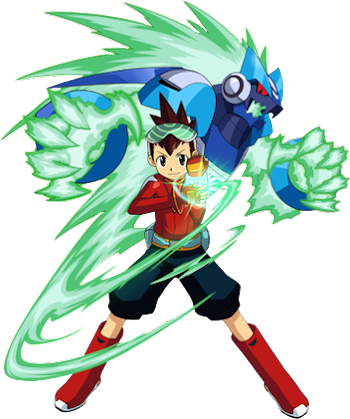 GAMES | FAMILY RENDERS: PNG-MEGAMAN