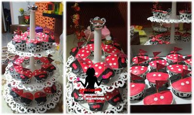 Capcake susun tier Ide alternatif pengganti kue tart ulang tahun