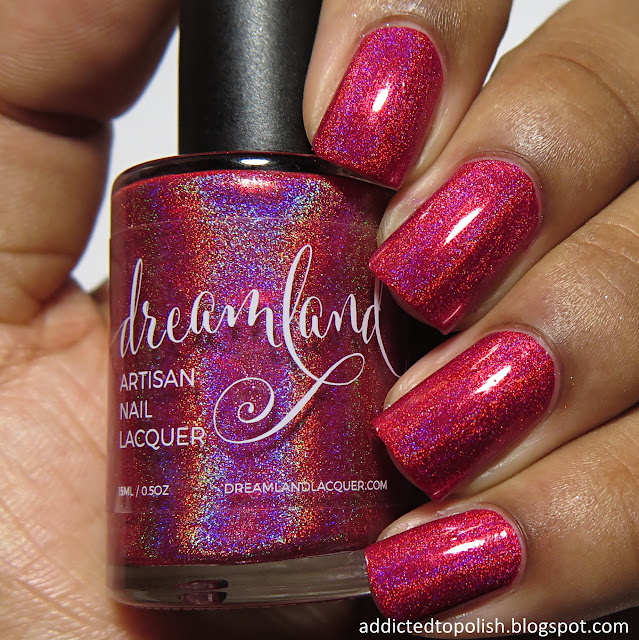 dreamland lacquer out damned clot deep vein thrombosis charity polish