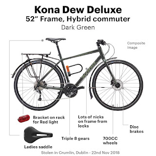Stolen Bicycle - Kona Dew Deluxe