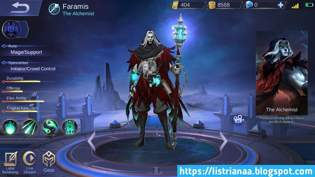 Gila Sudah Mati Hidup Lagi Faramis Hero Support Terbaik Bisa Menghidupkan Tim Yang Sudah Mati Mobile Legends 2