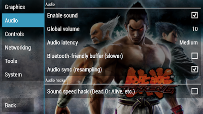 Tekken 7 ISO CSO PPSSPP Audio Settings