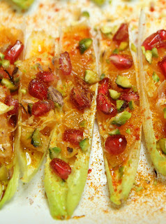Belgian Endive Appetisers with Tunisian Salad Organic Gluten-free Recipe