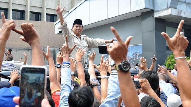 Popularitas Prabowo Melejit, BPN: Alhamdulillah, People Power