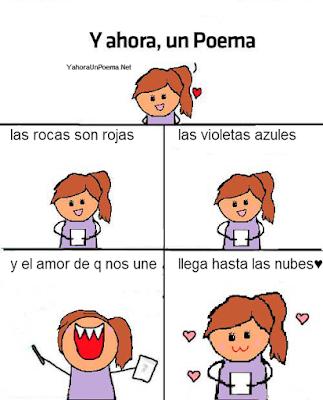 y ahora un poema para enamorar