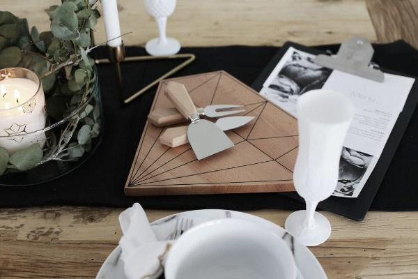 Apparecchiare la tavola di natale con semplicit e stile for Tavole moderne