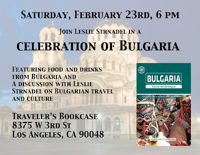 Another cool event at Traveler's Bookcase!