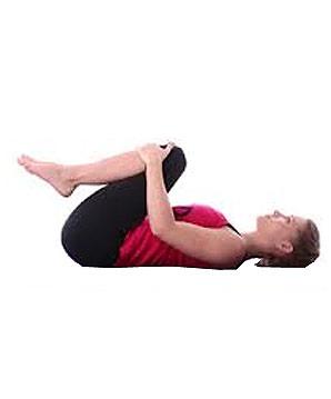 "knee press pavanamuktasana  yoga asana click ""label"
