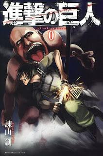 تقرير مانجا هجوم العمالقة المجلد صفر Shingeki no Kyojin Volume 0
