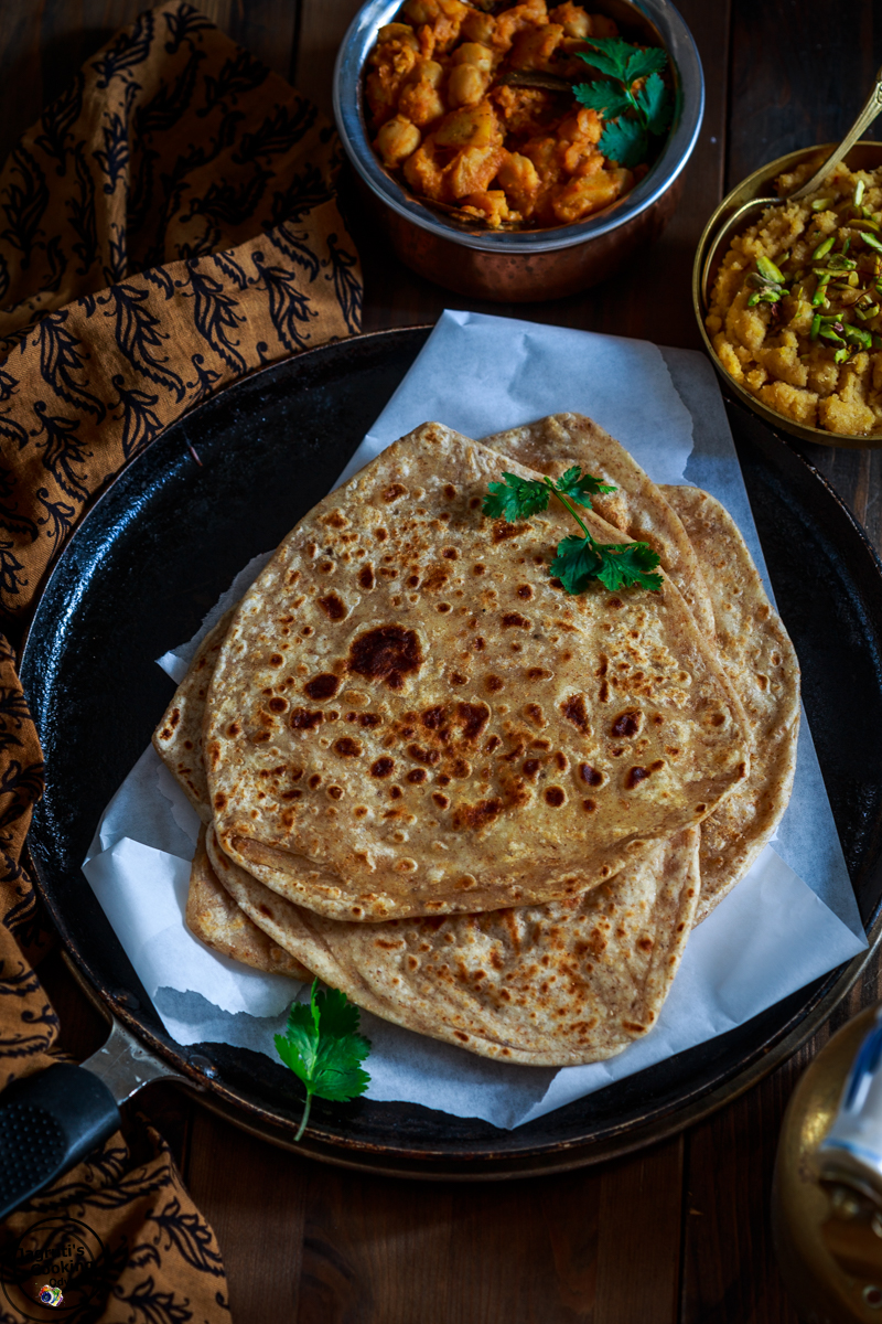 COCONUT MILK PARATHA