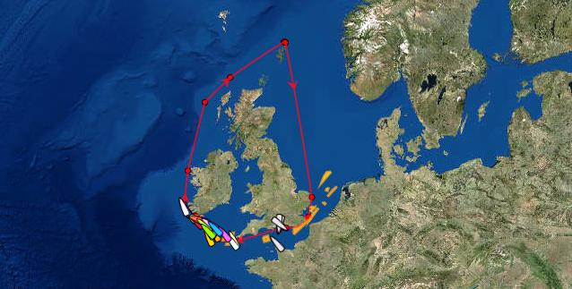 LIVE Tracker Sevenstar Round Britain and Ireland Race