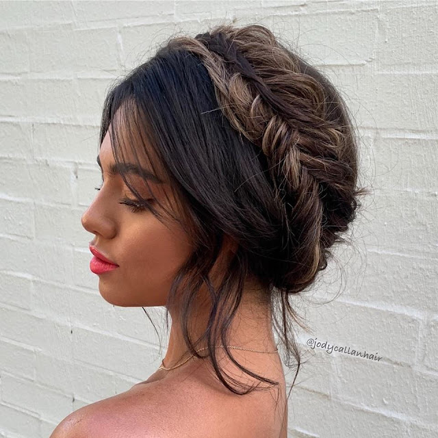 BRISBANE BRIDAL HAIRSTYLIST BOHO HAIR UPDOS WEDDING HAIR