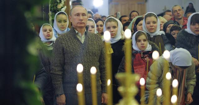 Vladimir Putin pemeluk agaman kristen ortodoks