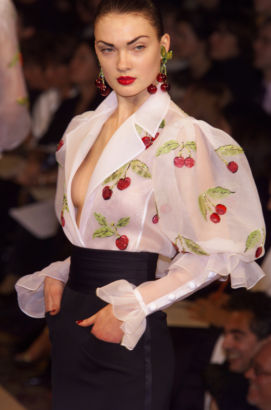 Yves Saint Laurent Spring/Summer 2001 couture collection
