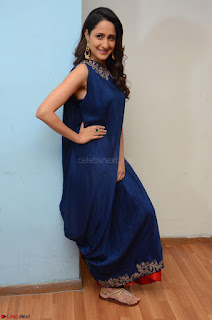 Pragya Jaiswal in beautiful Blue Gown Spicy Latest Pics February 2017 002.JPG