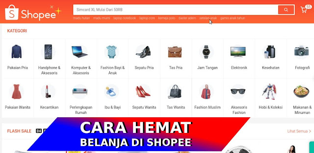 tips hemat belanja shopee voucher javan234