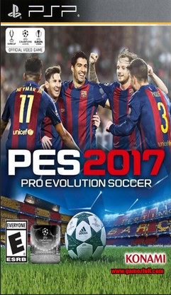 Pro Evolution Soccer 2017 (MOD) - PSP - ISO Download