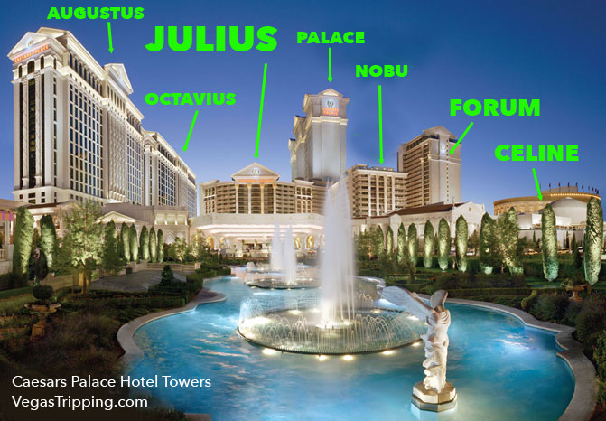 Caesars Palace Location