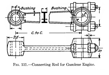 Machine Drawing: Connecting Rod