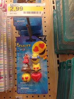 multi pack emoji erasers, target emoji, target emoji erasers, emoji stocking stuffer, emoji teacher, emoji gift