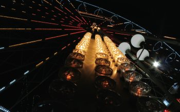 Wallpaper: Riesenrad in Wiesbaden
