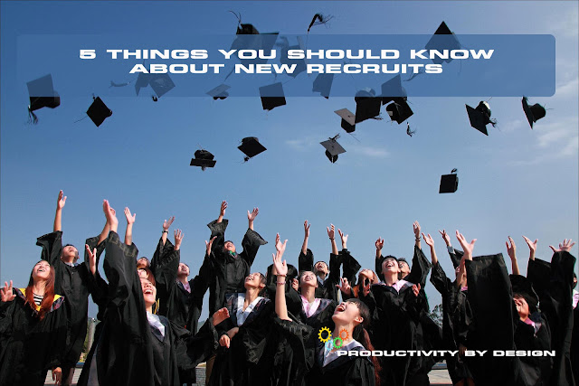5 things you should know about new recruits