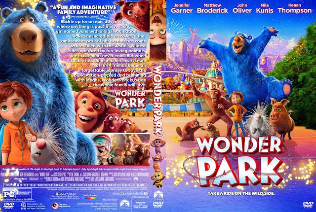 Wonder Park DVD Cover