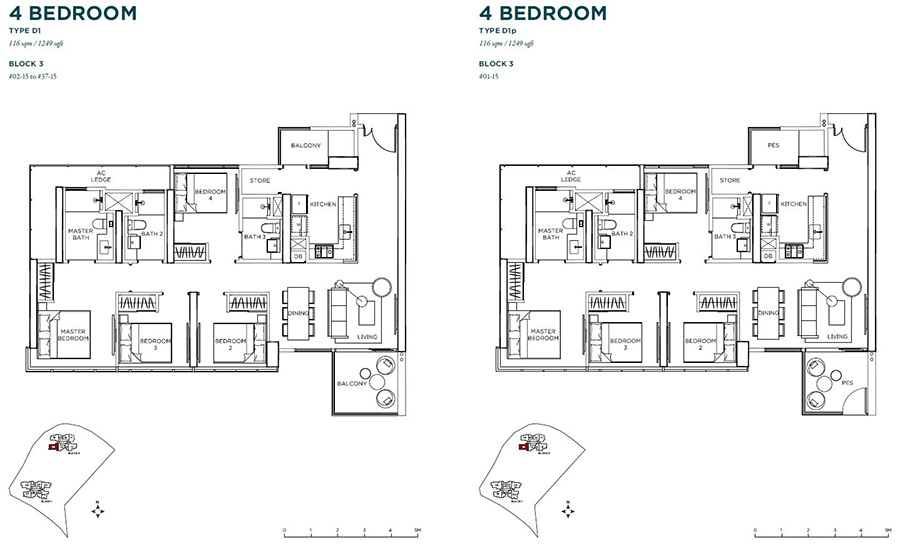 Gem Residences 4 bedroom