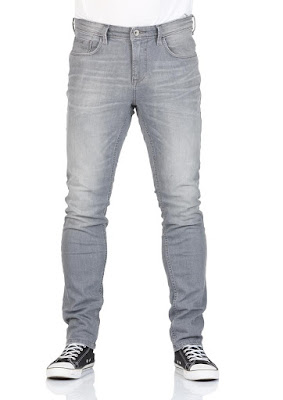 Tom Tailor Denim Herren Jeans Culver Skinny Fit - Grau - Grey Denim