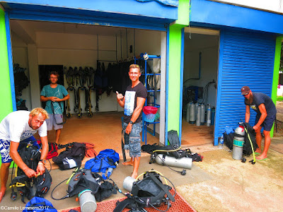 PADI IDC on Koh Lanta for March-April 2017 has been completed