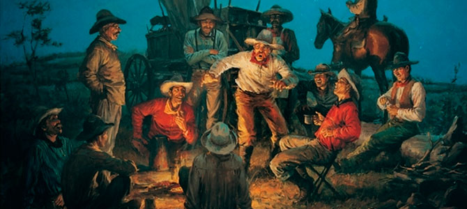 night cowboys storyteller