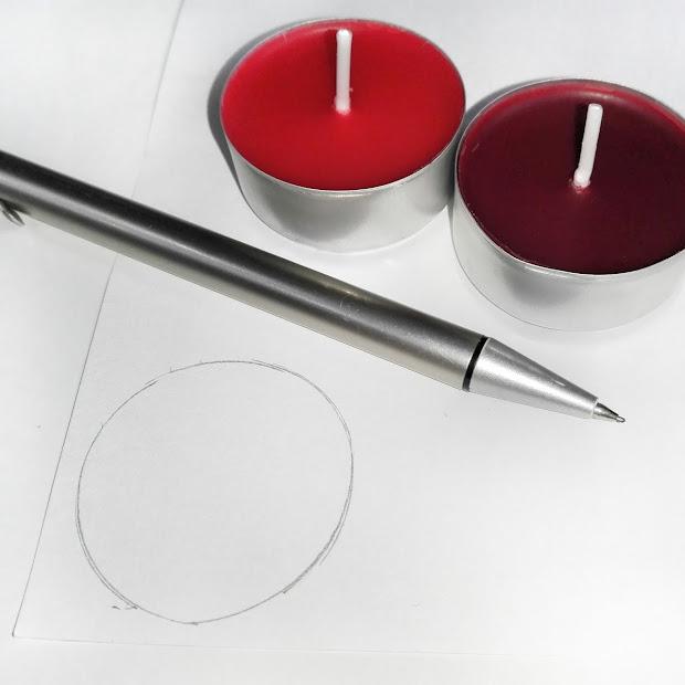 DIY: Świeczka z własnym obrazkiem