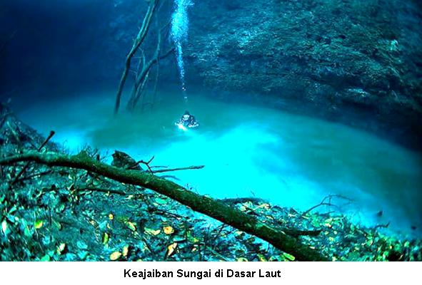 Fakta Sungai di Bawah Laut Dalam Al-quran + Ayatnya