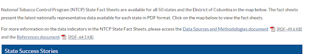 How a link to a PDF file may appear on a website.