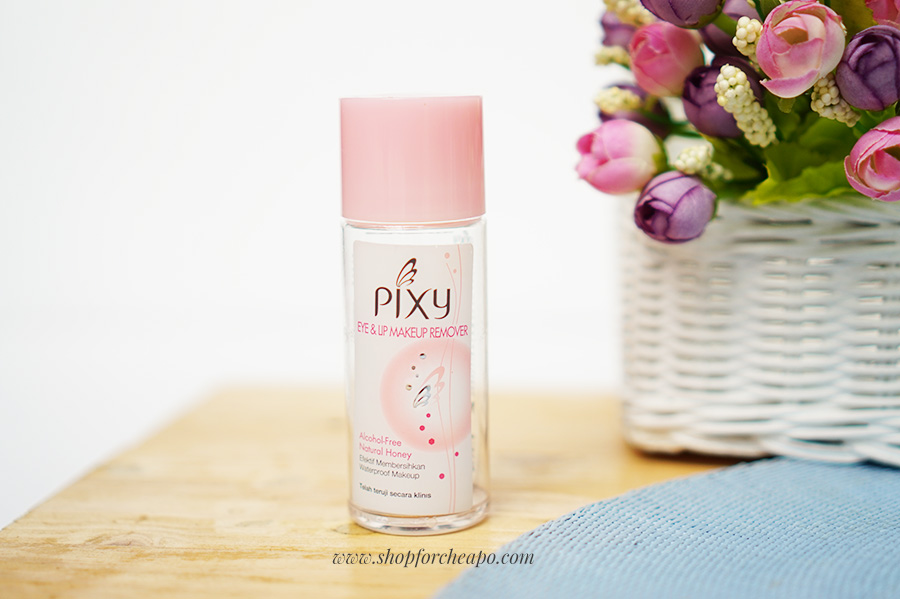 pixy eye & lip makeup remover
