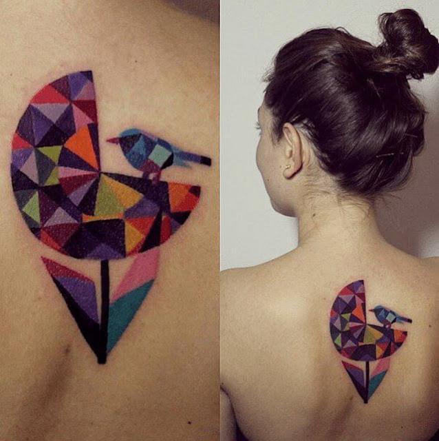 Tatuagens aquarelas