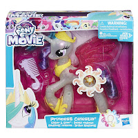 MLP the Movie Glitter and Glow Princess Celestia Brushable