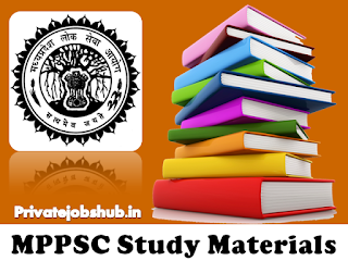 MPPSC Study Material
