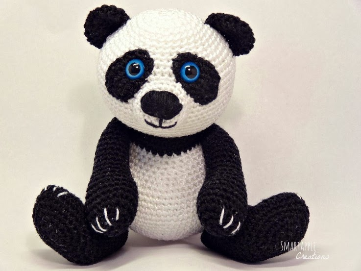 Super Cute Panda Crochet Patterns You Will Love | The WHOot | 553x737