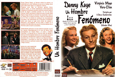 Carátula dvd: Un hombre fenómeno / Wonder Man